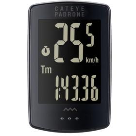 CatEye Padrone CC-PA100W Licznik rowerowy Black Edition, black